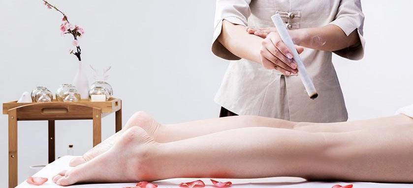 艾灸 肾部保养美容作品