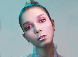 精灵创意化妆作品