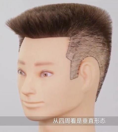 男士平头发型美发作品