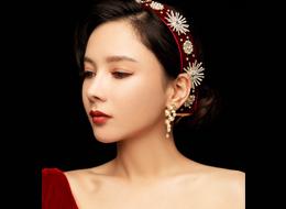复古典雅化妆作品