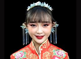 秀禾新娘化妆作品